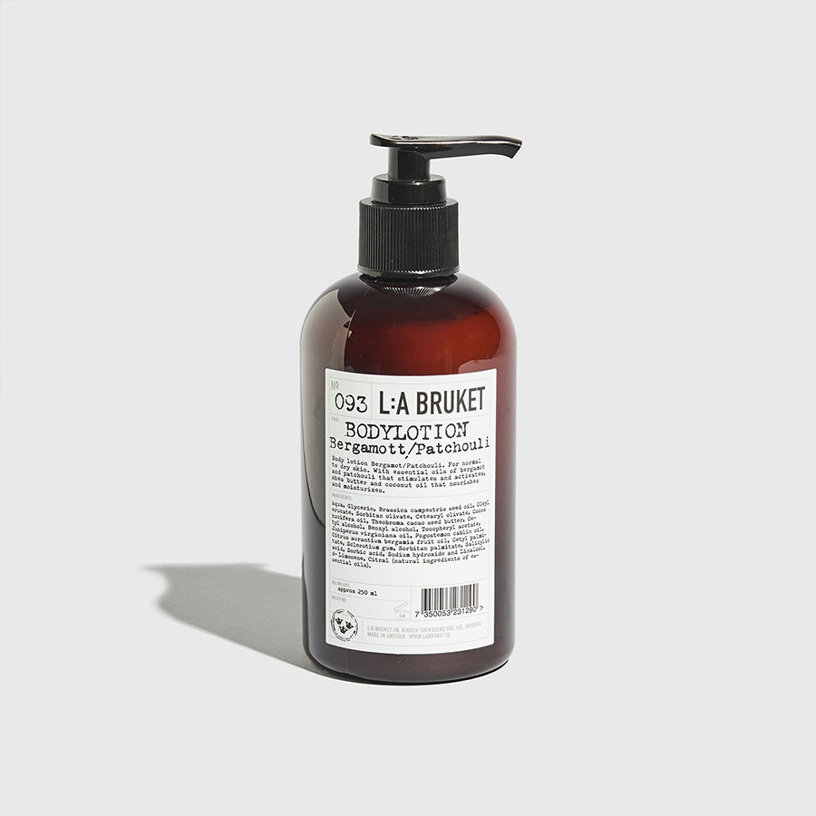093 Body L.A. BRUKET-Lotion Bergamot/Patchouli