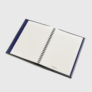S.T.DUPONT-A4 Cover and Notebook Line D Leather