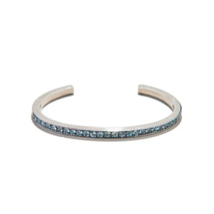 Dolly Boucoyannis Aqua Marine Bangle Bracelet