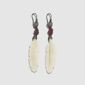 MARLEN HT-Bone Wing Earrings