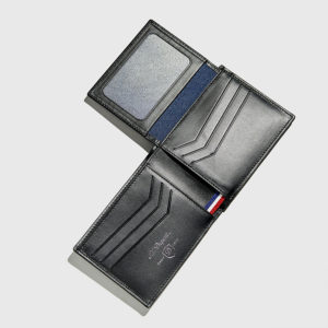 S.T.DUPONT-Defi Carbone Billfold 6 Credit Cards & ID Paper Holder