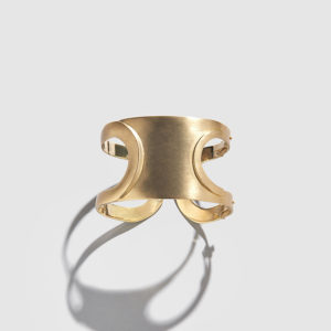 POLINA SAPOUNA ELLIS-Dorian Gold Cuff-Bracelet