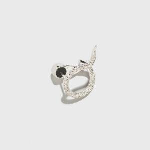 Diamond Trip Stud Earring