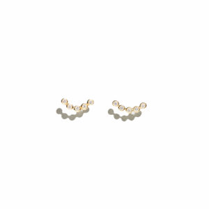 Eikosi Dyo Five Gems Earrings
