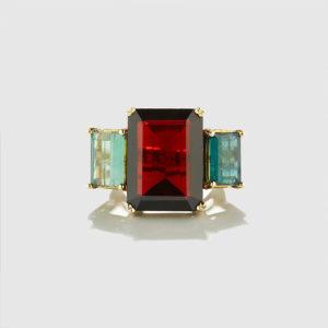 DOLLY BOUCOYANNIS-Granada-Tourmaline Ring