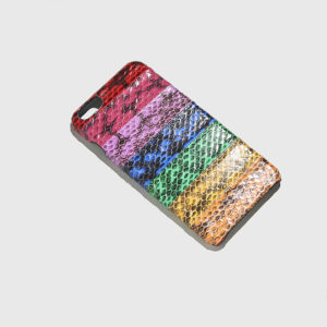 THE CASE FACTORY-iP6+ Real Water Snake Rainbow 1