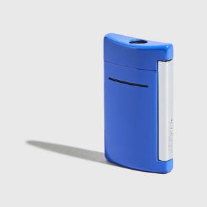 S.T.DUPONT-Minijet Lighter Blue Cyan
