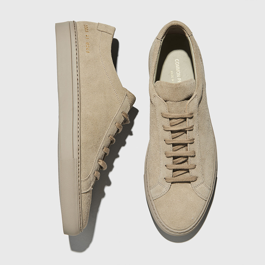 TAUPE SUEDE SNEAKERS-1 - i-D Concept Stores