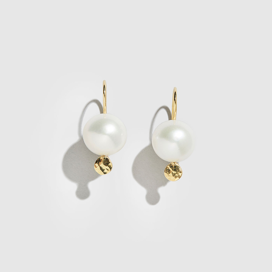 DOLLY BOUCOYANNIS-Pearl Earrings