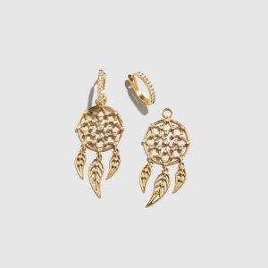 DOLLY BOUCOYANNIS-Separate Dreamcatchers Earrings