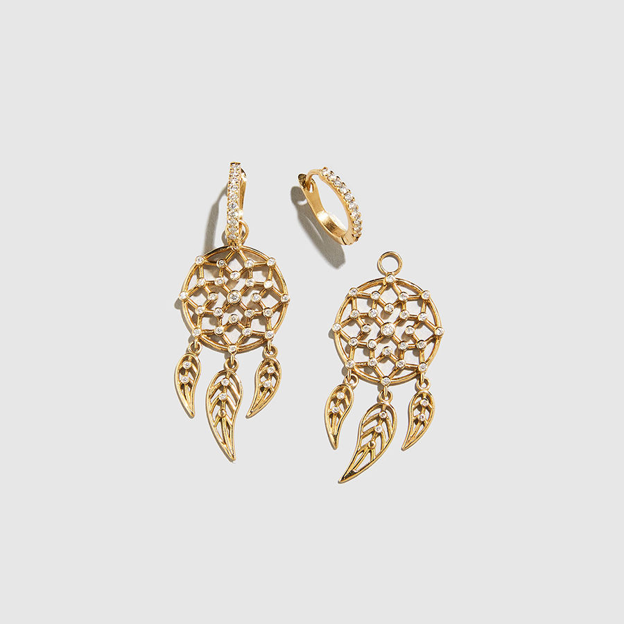 DOLLY BOUCOYANNIS-Separate Dreamcatchers Earrings