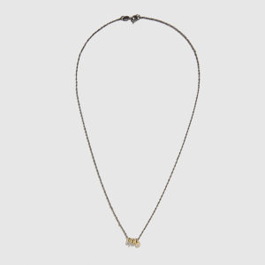 DOLLY BOUCOYANNIS-Whirling Wires -Diamond Necklace