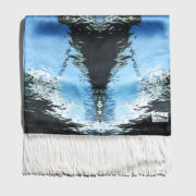 SEATHROUGH - Silver drops Scarf S17