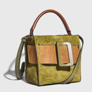 Boyy - Devon 21 Color Block Suede Handbag Capperi