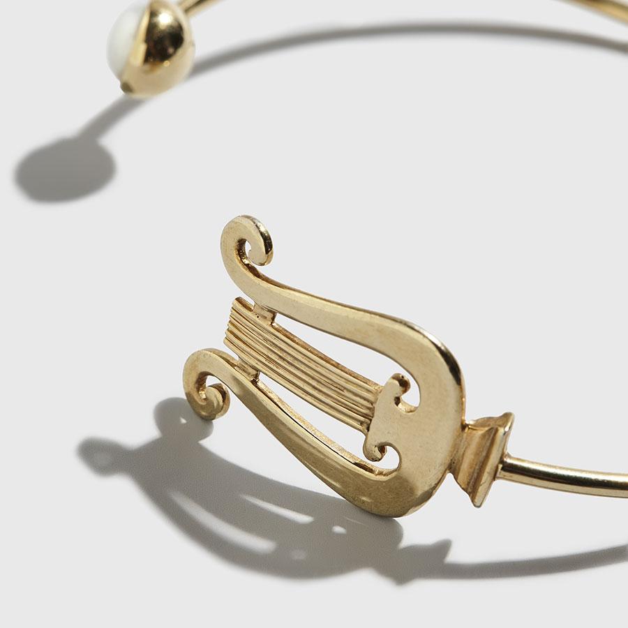 kokosalaki - Zeta Lyra Cuff Bracelet