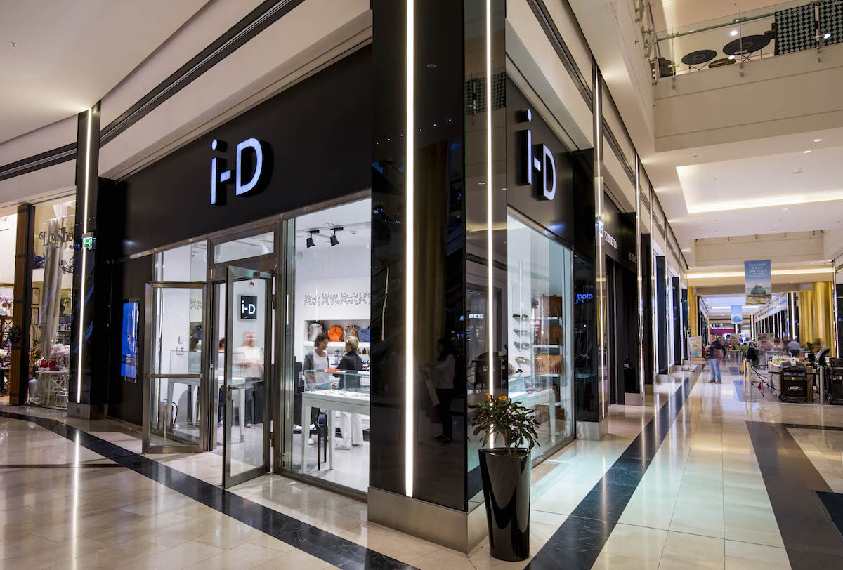 iD-ConceptStores in Golden Hall