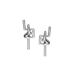 Sophia Kokosalaki Labyrinth I handcrafted earrings