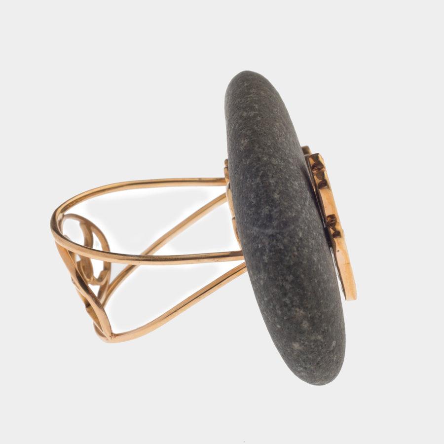 Dolly Boucoyannis Golden Fatima's Hand Heart Ring DBR66