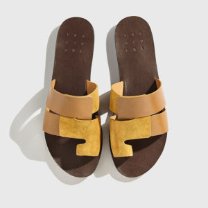 Trademark - The Cadiz Sandal Dark Khaki