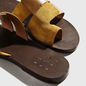 Trademark - The Cadiz Sandal Dark Khaki