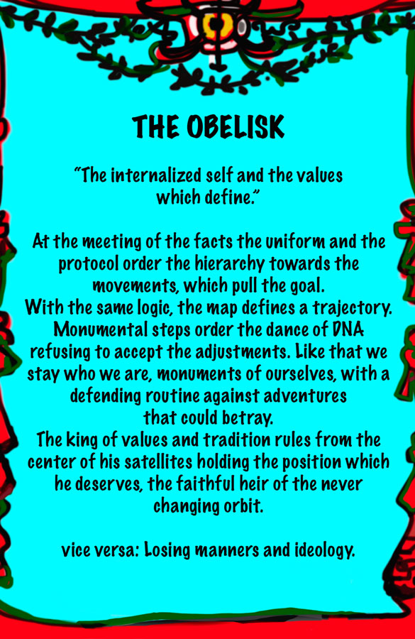 Lydia Venieri The Obelisk