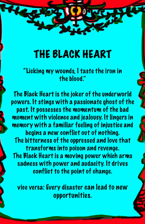 Lydia Venieri The Black Heart