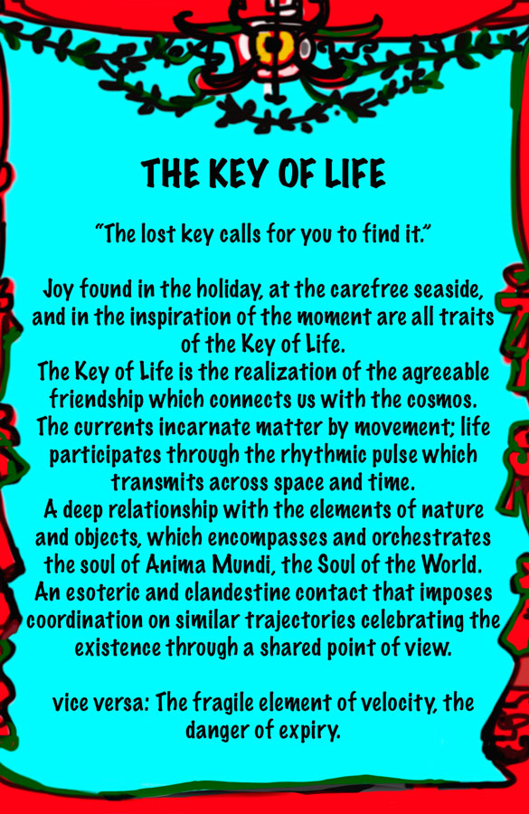 Lydia Venieri The key of Life