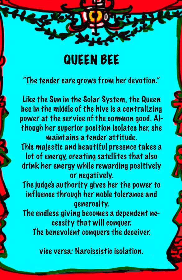 Lydia Venieri-Queen Bee