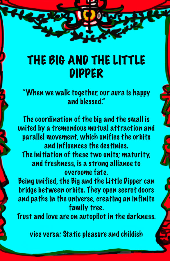 Lydia Venieri-The Big and the Little Dipper
