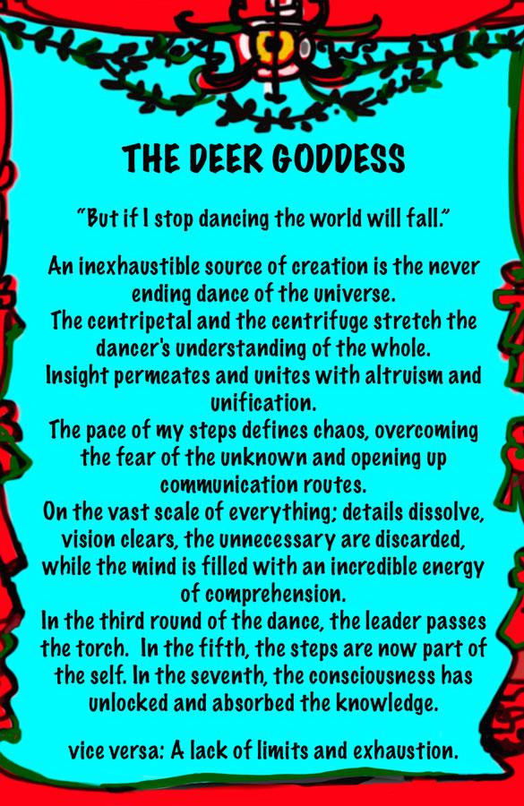 Lydia Venieri- The Deer Goddess