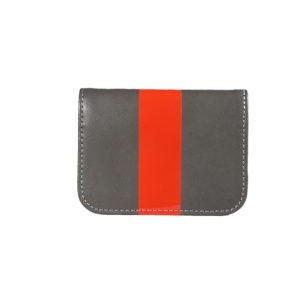 Charcoal Red Glossy Stripe Cardcase