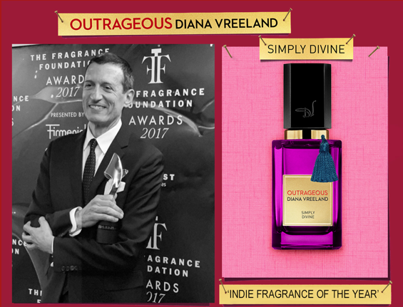 OUTRAGEOUS SIMPLY DIVINE by DIANA VREELAND