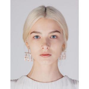 Sophia Kokosalaki Perseids Earrings on model