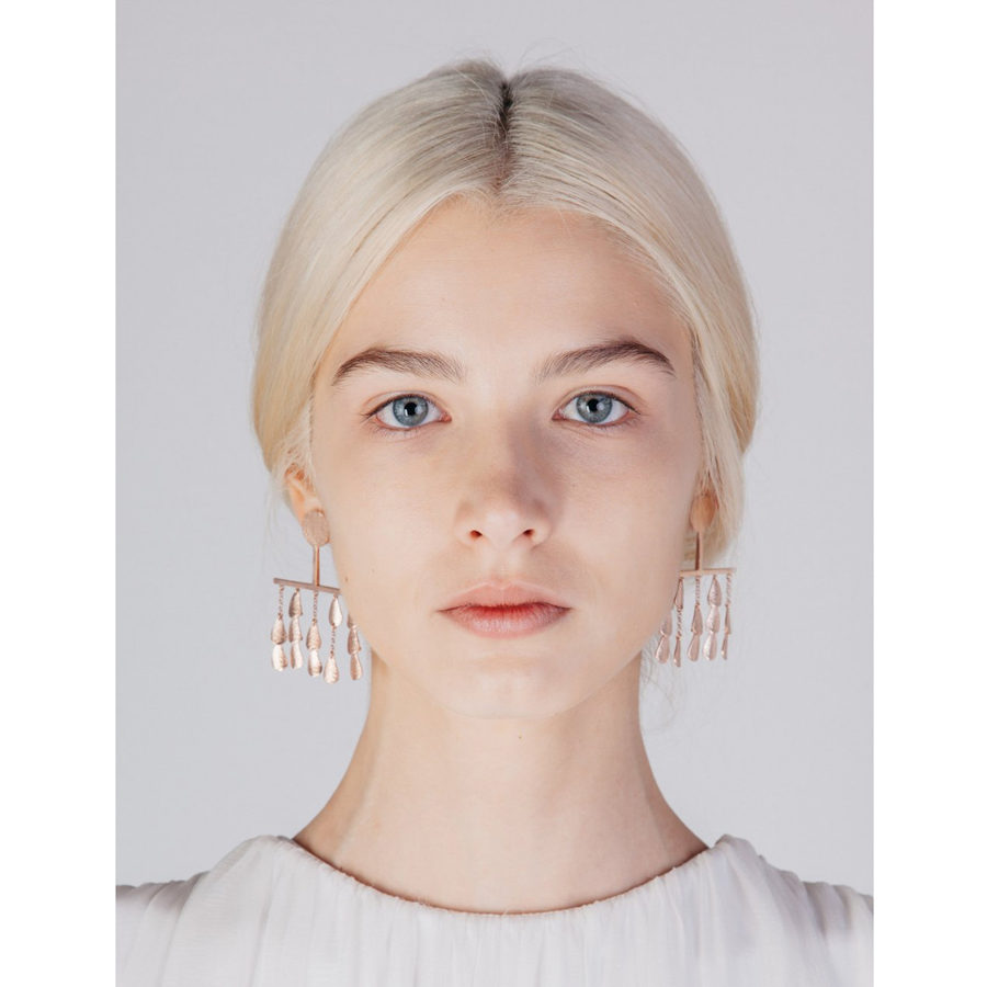 Sophia Kokosalaki Perseids Earrings on model