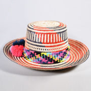 SinuArt – Wayuu Multi Red Hat (2)