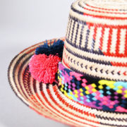 SinuArt – Wayuu Multi Red Hat (3)