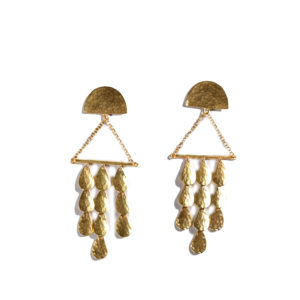 Sophia Kokosalaki Triangle Perseides Earrings