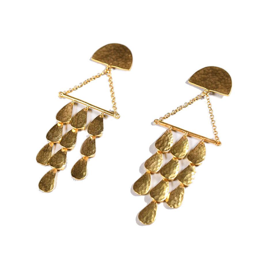 Sophia Kokosalaki Triangle Perseides Earrings