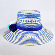 sINUaRT - Wayuu Multi Blue Hat