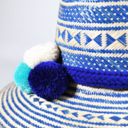 sINUaRT – Wayuu Multi Blue Hat (2)