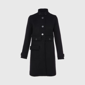 Courreges - Classic Trench Black Coat