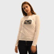 Michaela Buerger – Long Sleeve Applique White T-Shirt (6)