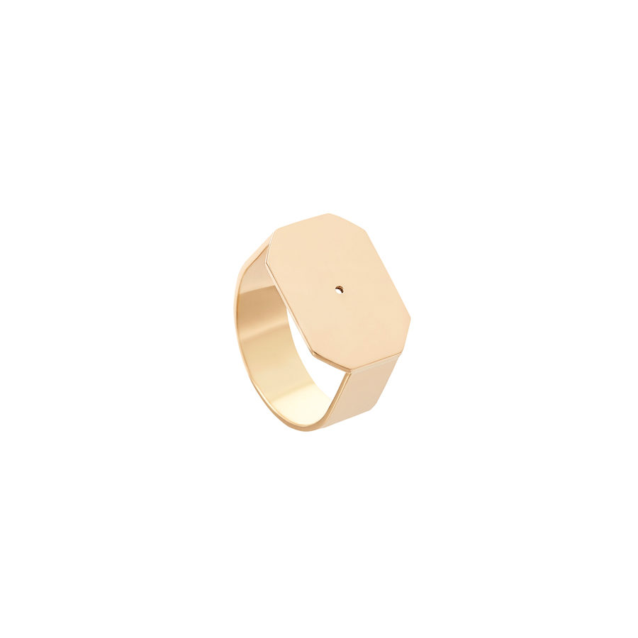 Lito Infinite Yellow Gold Ring