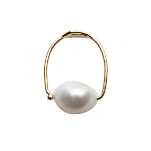 Dolly Boucoyannis Golden Fresh Water Pearl Diamond Ring DBR90