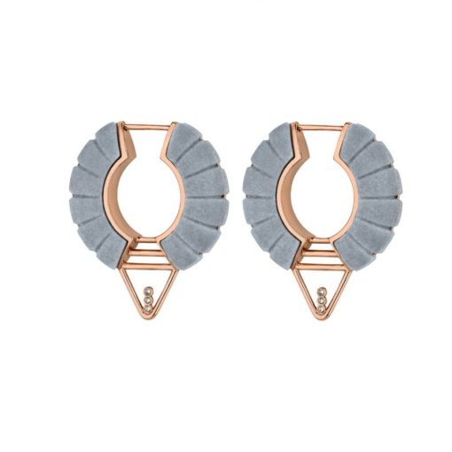 Adoucissement-Bardiglio-Imperiale-marble-Earrings