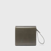 Aesther Ekme - Lambskin leather Pouch Military1