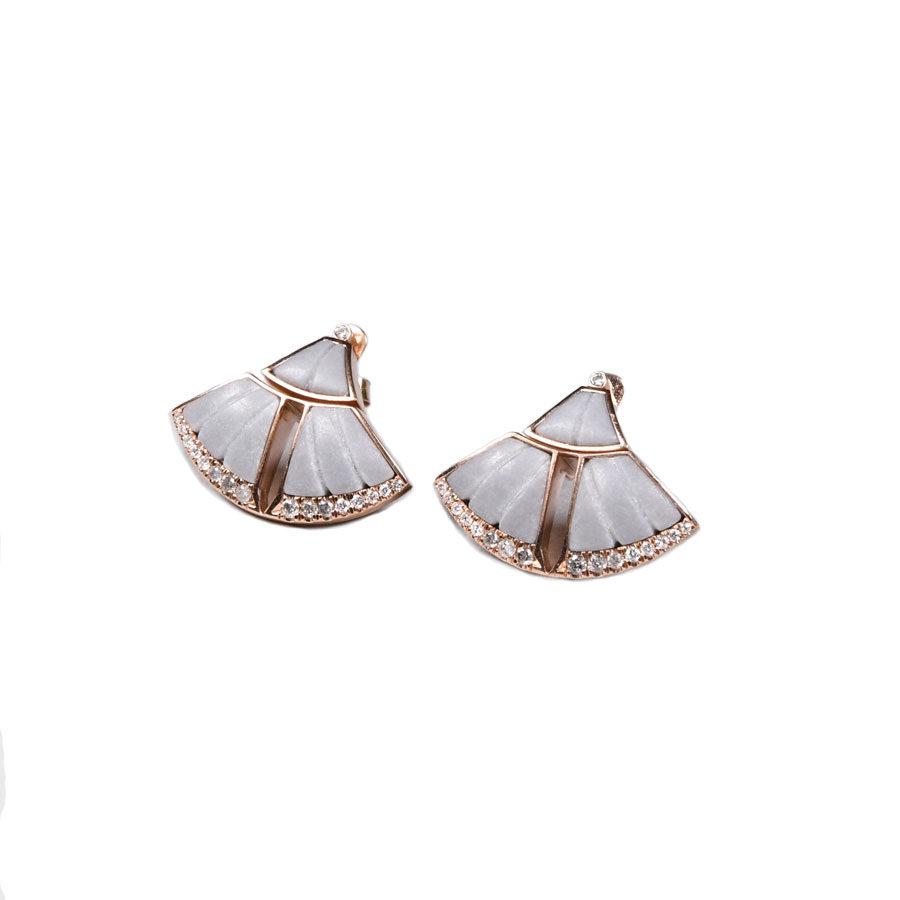 Ioanna Souflia Adoucissement Rose Gold Earrings
