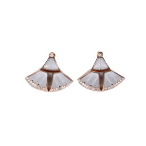 Ioanna Souflia Adoucissement Rose Gold Earrings