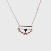 Ioanna Souflia - Blueprints Rose Gold Pendant