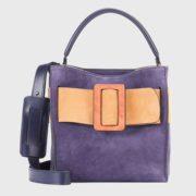 boyy - Devon Suede Viola Handbag